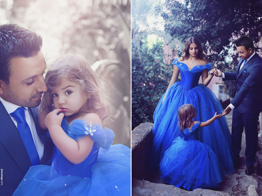 Awe How Sweet This Cinderella Inspired Family Photo