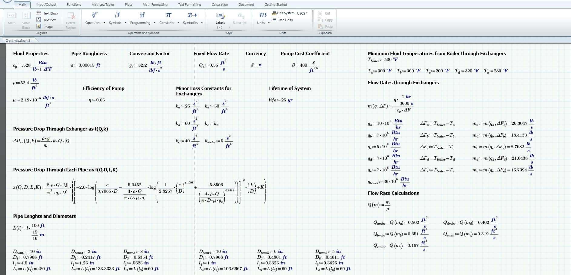 Mathcad Worksheet Into