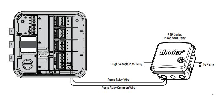 well pump start relay wiring diagram