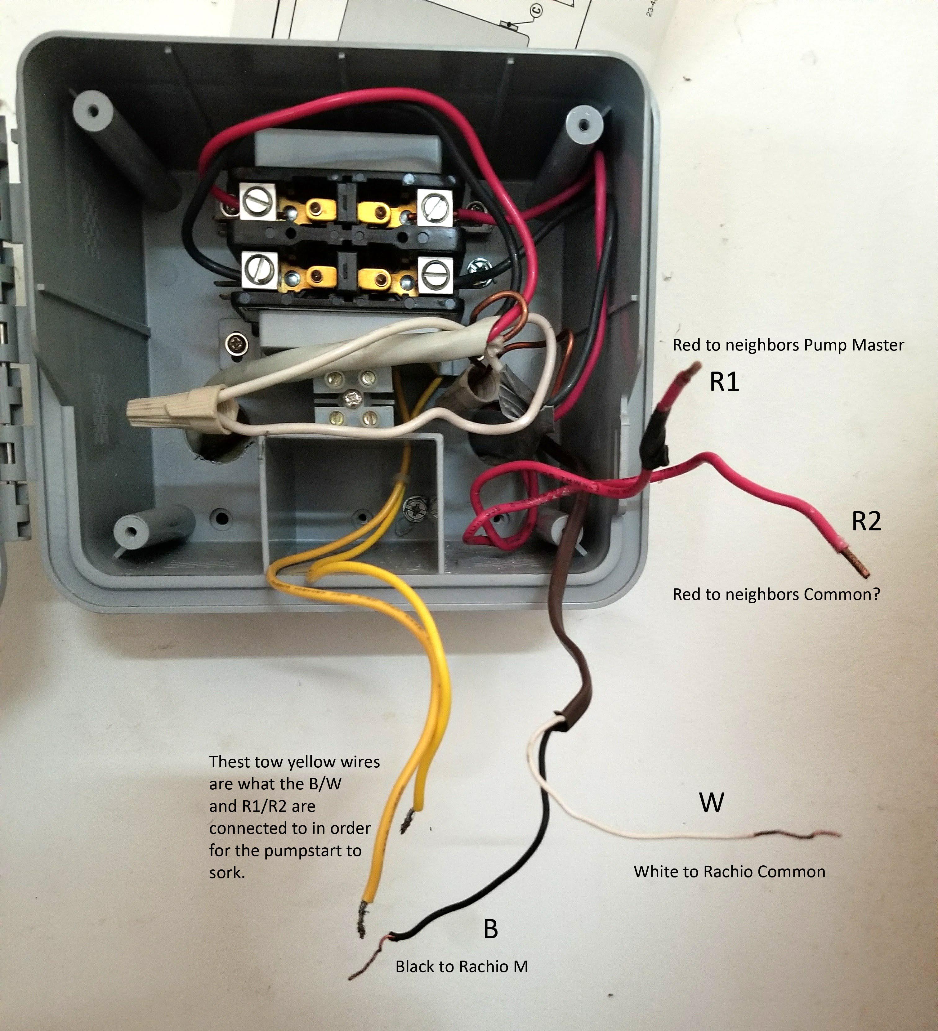 Wiring March Pump Switch
