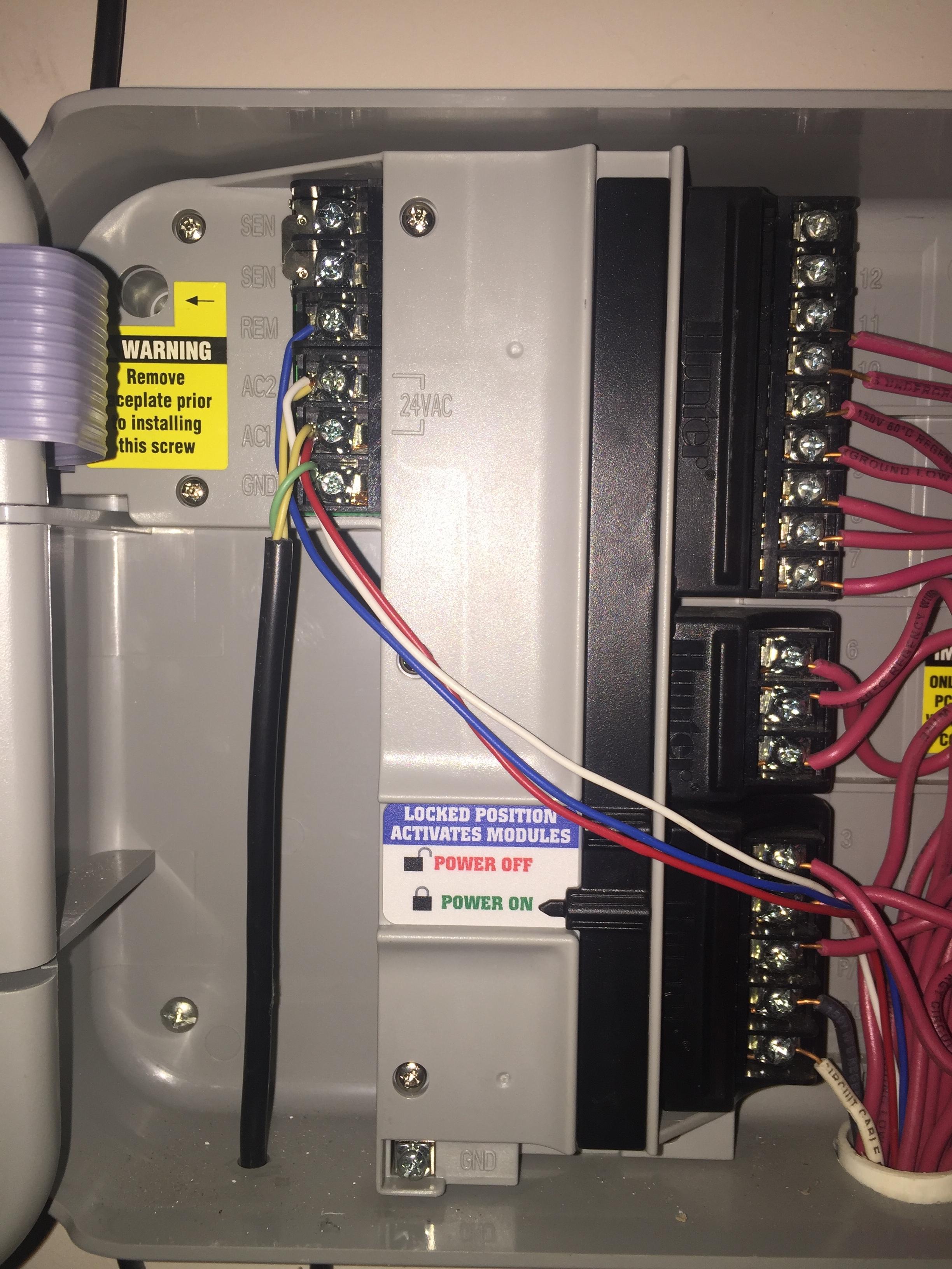 hunter pro c sprinkler system wiring diagram 2002 subaru forester stereo need help installing rachio 2nd gen