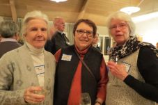 Liddy Baker of Kent, Sharon Hartwick of Kent and Patsy Stroble of Sharon