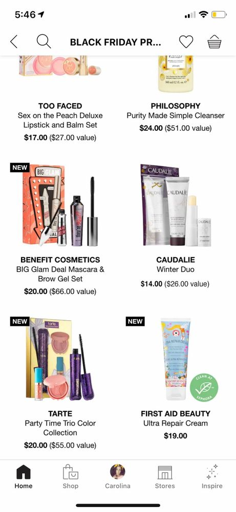 Sephora Black Friday 2019 : sephora, black, friday, Sneak, Peek:, Black, Friday, Sephora, Dea..., Beauty, Insider, Community
