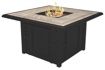 Chestnut Ridge Square Fire Pit Table