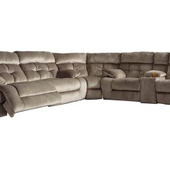 4087 Modern Bonded Leather Sectional Sofa With Recliners Bernhardt Kelsey Sofas | Review Home Co