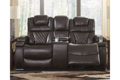 Wateron Power Reclining Loveseat with Console