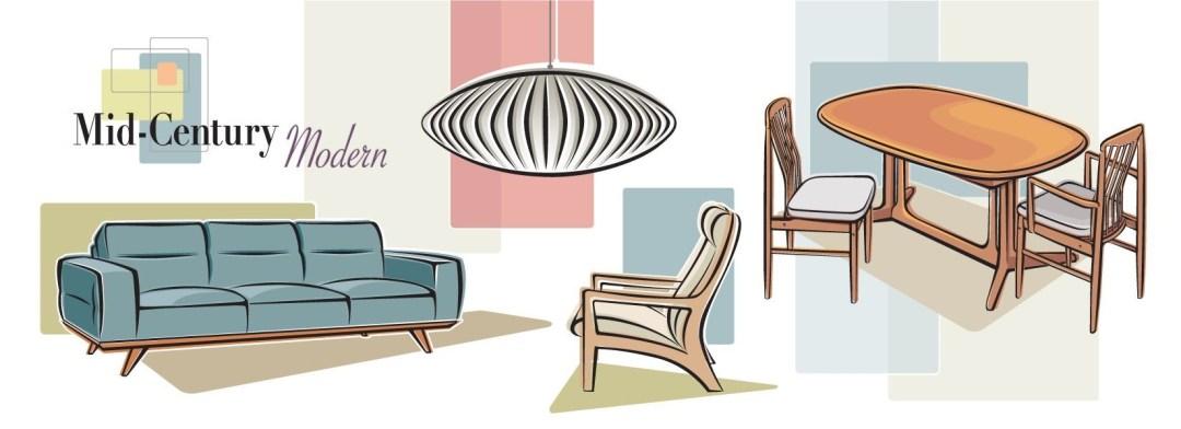 Contemporary Versus Modern Design, Copenhagen Furniture El Paso