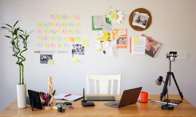 Using sliding shelves in your home office