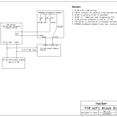 Burglar Alarm Pir Wiring Diagram P38 Air Suspension Motion Pet Friendly Esp8266 Wifi Security System For