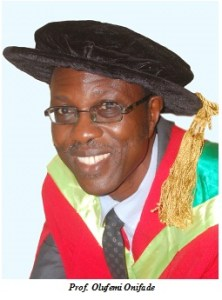 Professor Onifade Set to Deliver 53rd Inaugural Lecture