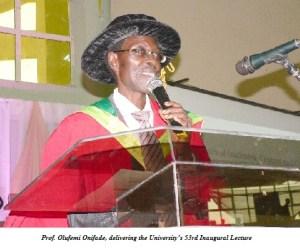 Prof. Onifade
