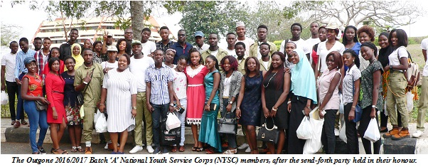 Youth Corps Members Commended