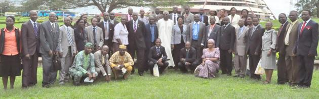 ANAN delegates with some University Management Staff