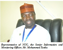 NUC Commends Excellent Pre-Screening Exercise