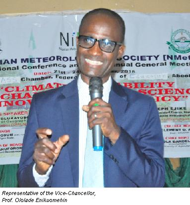 FUNAAB Hosts NMetS Conference, Discusses Climate Change