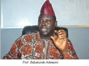 Prof. Babatunde Adewumi