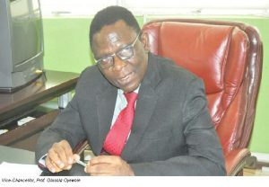 Vice-Chancellor, Professor Olusola Oyewole