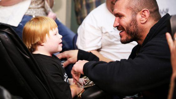 Circle Of Champions Randy Orton Meets Allison And Brandon Photos WWE Community