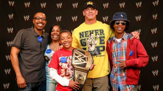 Circle Of Champions John Cena Meets Chance Photos WWE Community
