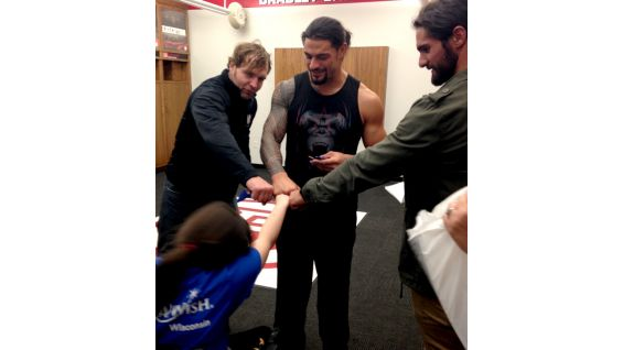 Circle Of Champions The Shield Meets Jessie Photos WWE Community