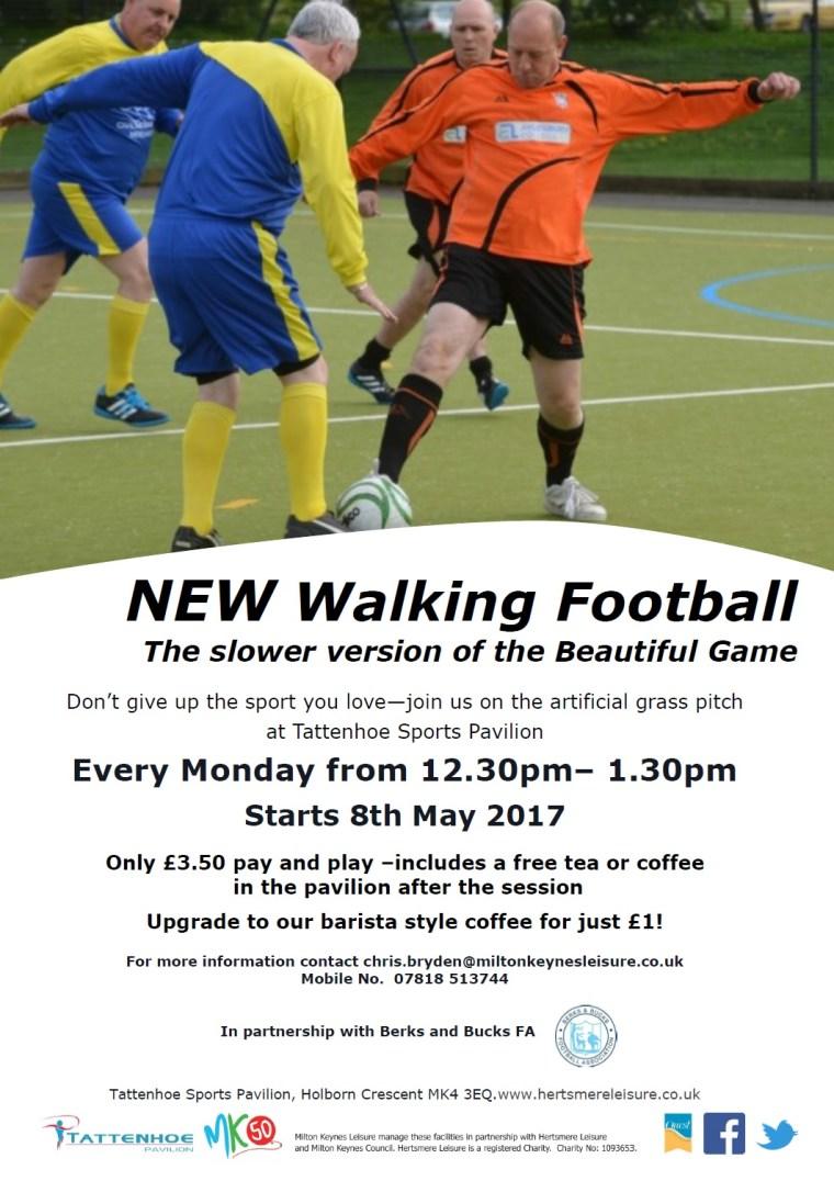 Walking Football Poster