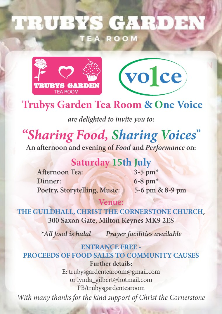 15 July Flyer Trubys & 1 Voice Poster (2) (1)