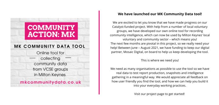 mk community data tool