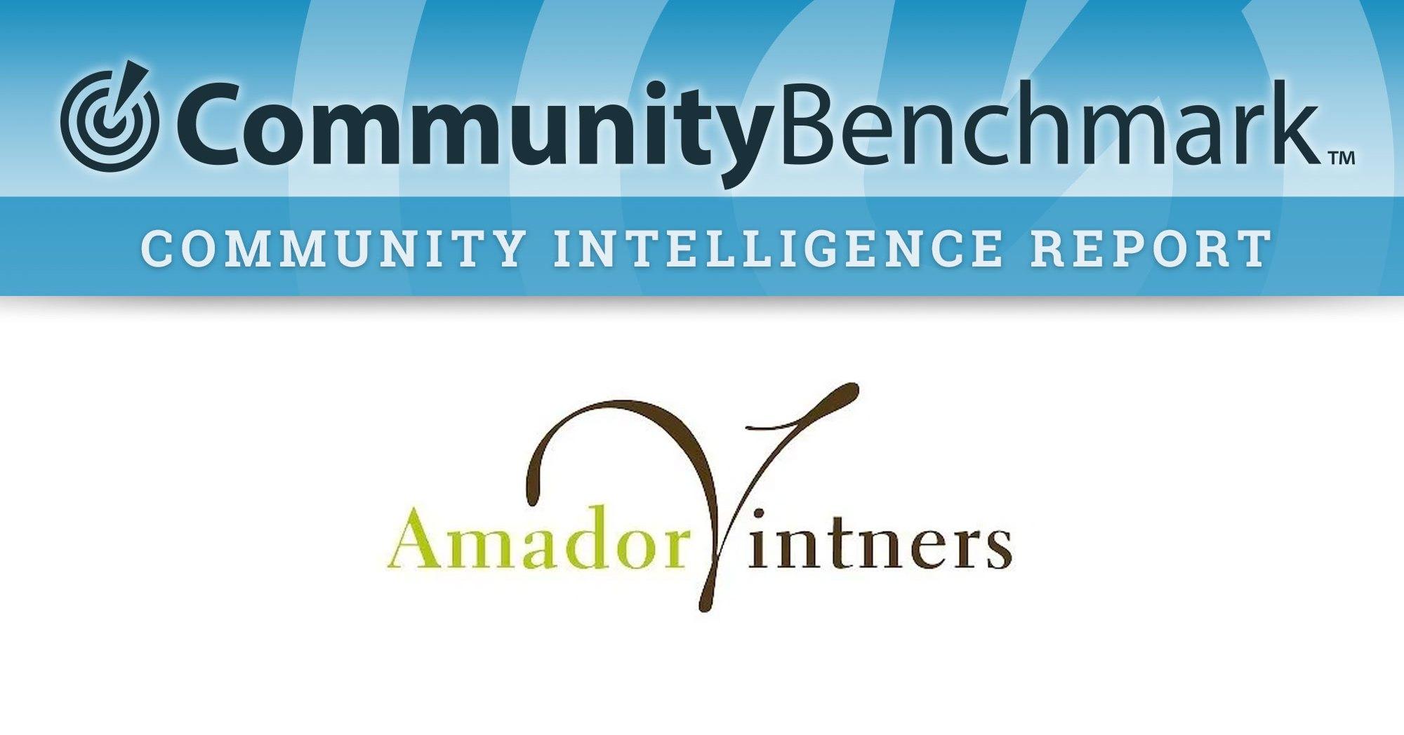 Community Intelligence Report for Amador Vintners