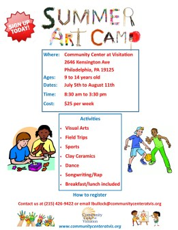 Summer Art Camp Flyer 4.0