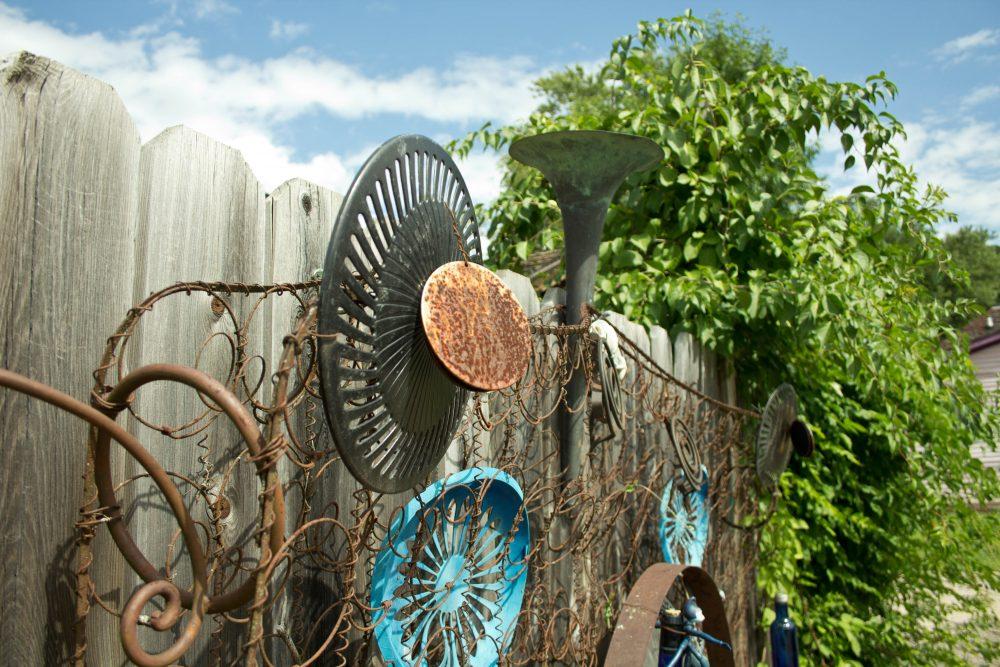 Rob Horwich outdoor art installation