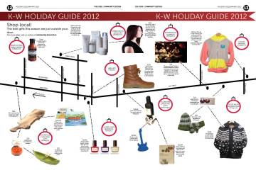 K-W HOLIDAY GUIDE 2012: Shop local!