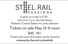 Steel Rails ticketing info