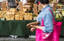 Belmont Market in season this June
