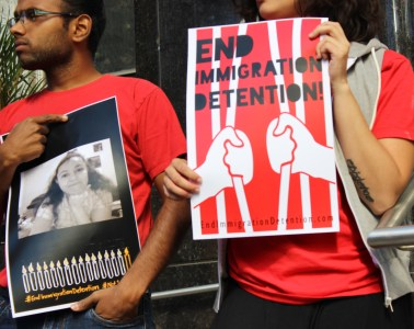 End Imm detention by Elizabeth Adekur-Carlson