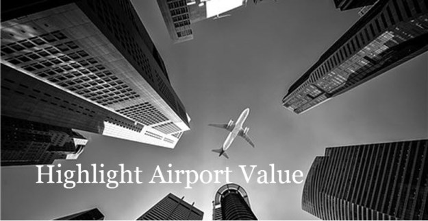 Community Flights Airports - Highlight Airport Value