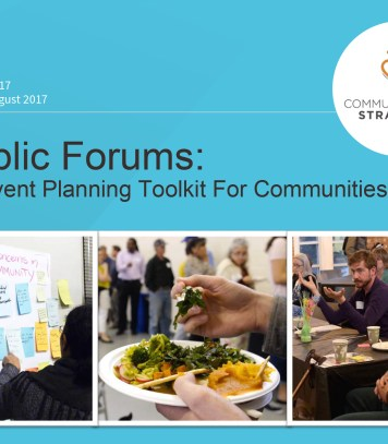 Food council development A toolkit for communities from seed to