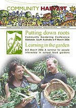 Community Harvest newsletter Autumn '07