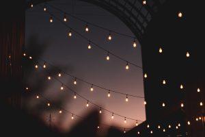 white string light