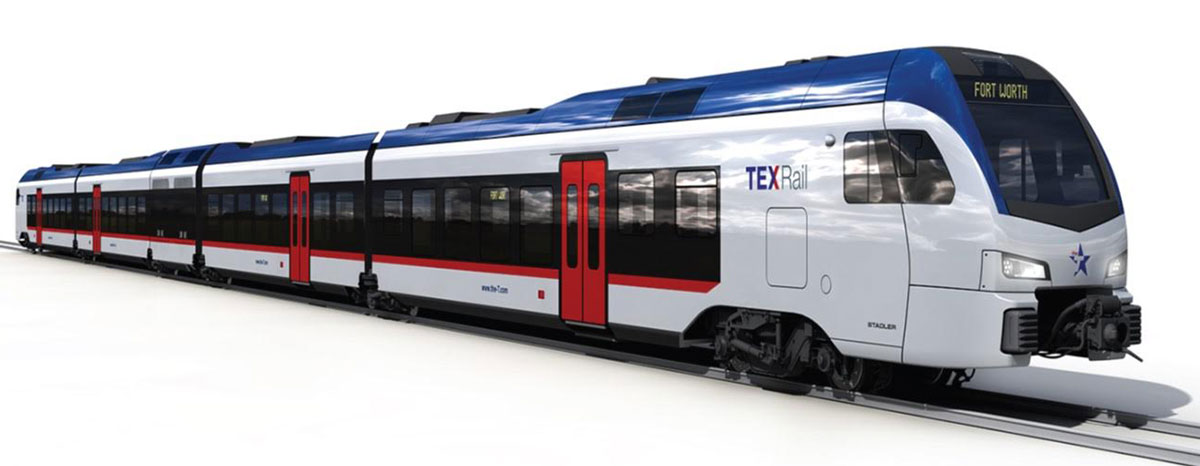 The Federal Transit Administration has given the go ahead for TEX Rail.