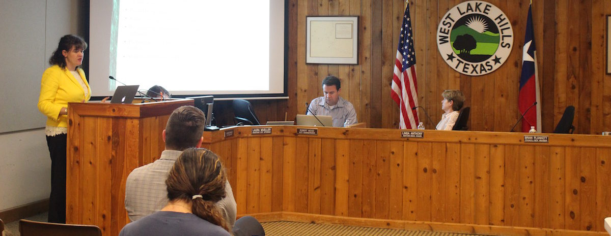 West Lake Hills City Council met Aug. 24 for their regularly scheduled meeting.