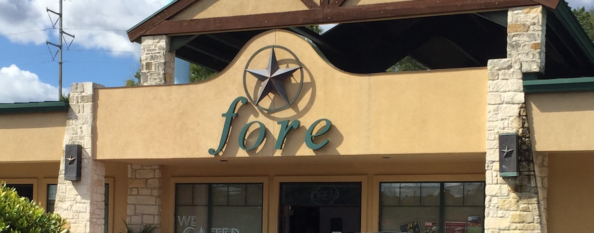 Fore restaurant, located in the Lakeway Commons Shopping Center, closed Oct. 23.