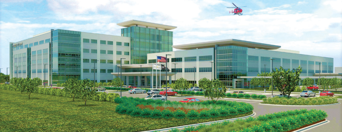 The Memorial Hermann Cypress Hospital will open next April off Hwy. 290 with 80 beds and room for expansion.