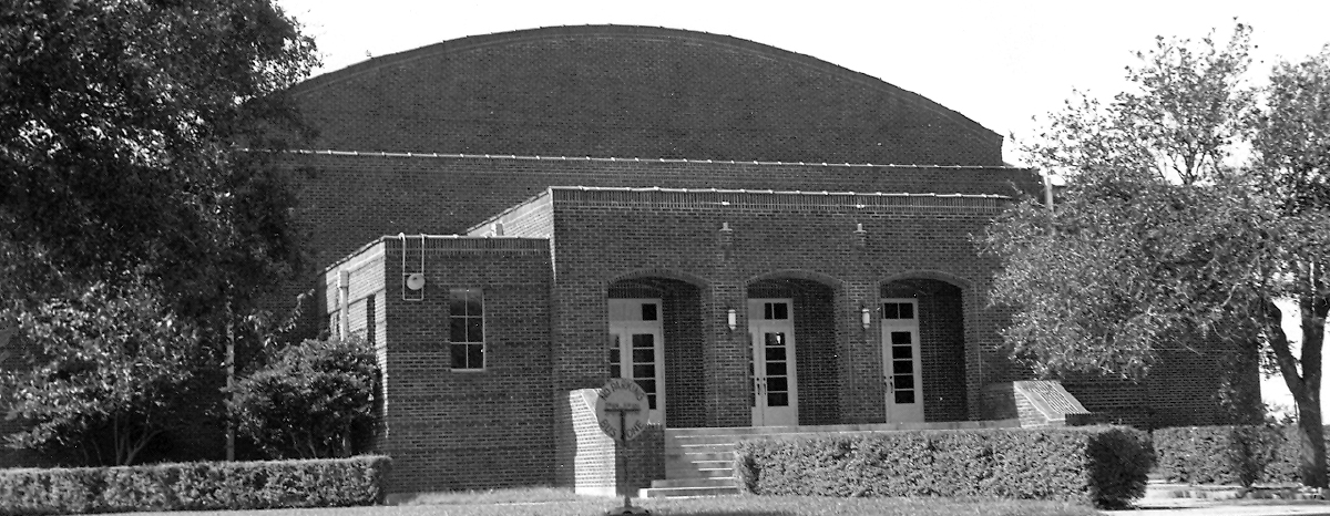 County plans to restore historic Missouri City gymnasium to original art deco design