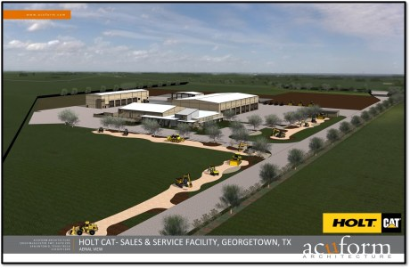 Holt Texas, Ltd. is planning to open a 60,000 sq. ft. retail center in Georgetown by 2018.