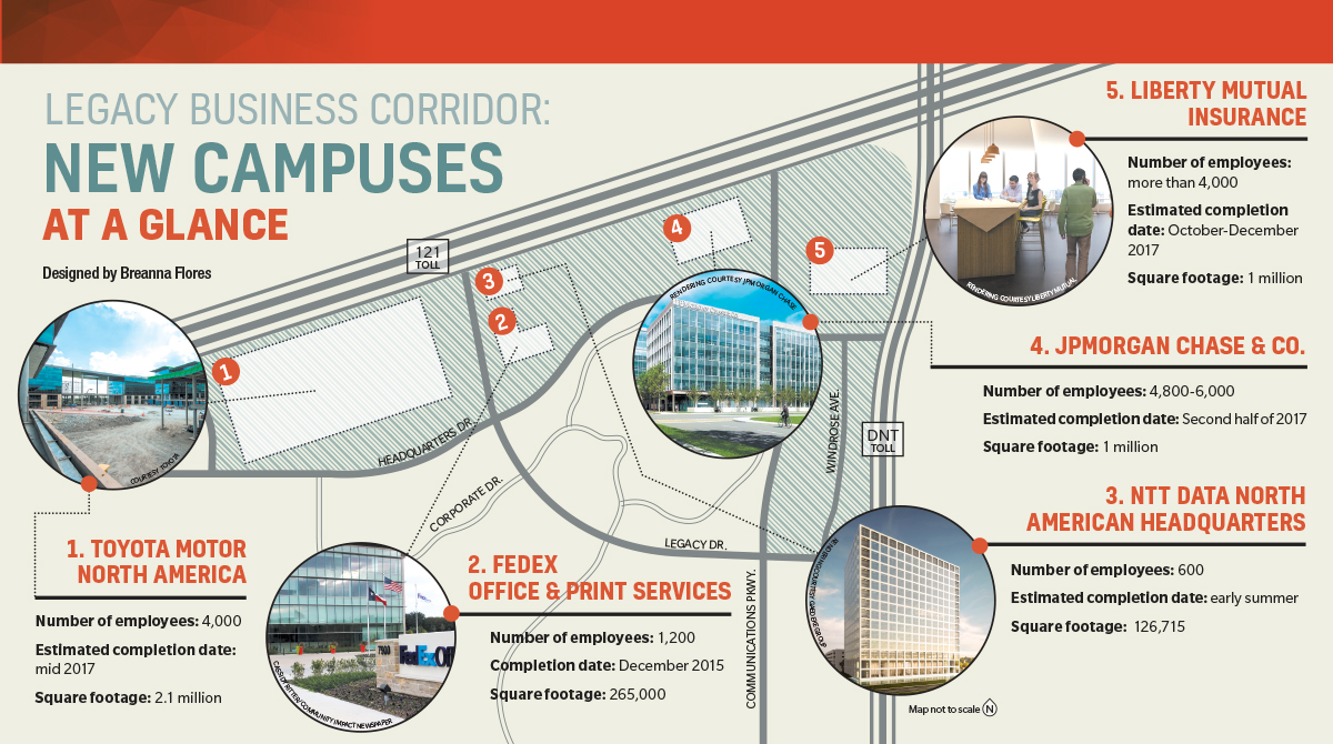 3 Big Offices Opening In 2017 Near Legacy West And Their