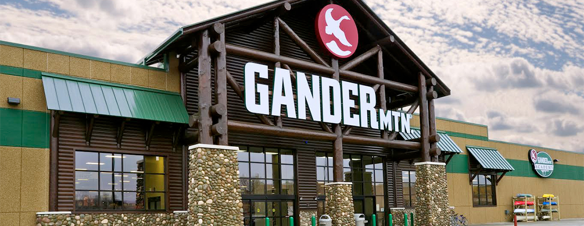 Gander Mountain has filed for Chapter 11 bankruptcy.