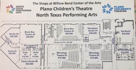 The North Texas Performing Arts' new space is expected to open in June.