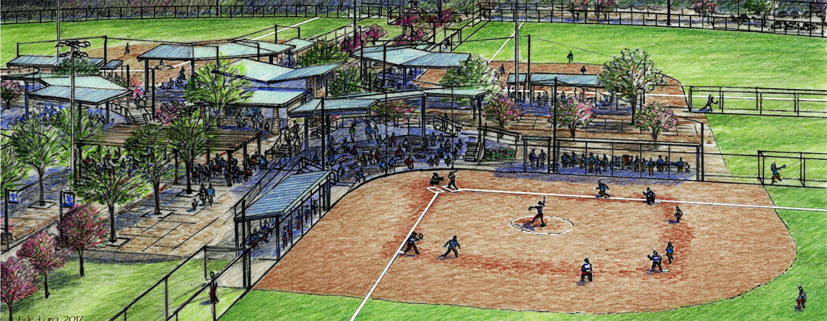 Oak Grove Softball Complex will undergo renovations and upgrades.