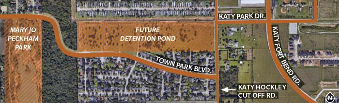 Katy approves detention pond near Katy Park
