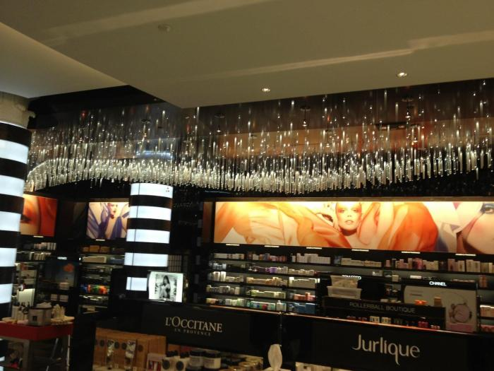 Visual Lighting Technologies installed a Fiber Optic Chandelier system inside of a Sephora in New York. The company is planning to expand its operations to Cedar Park.